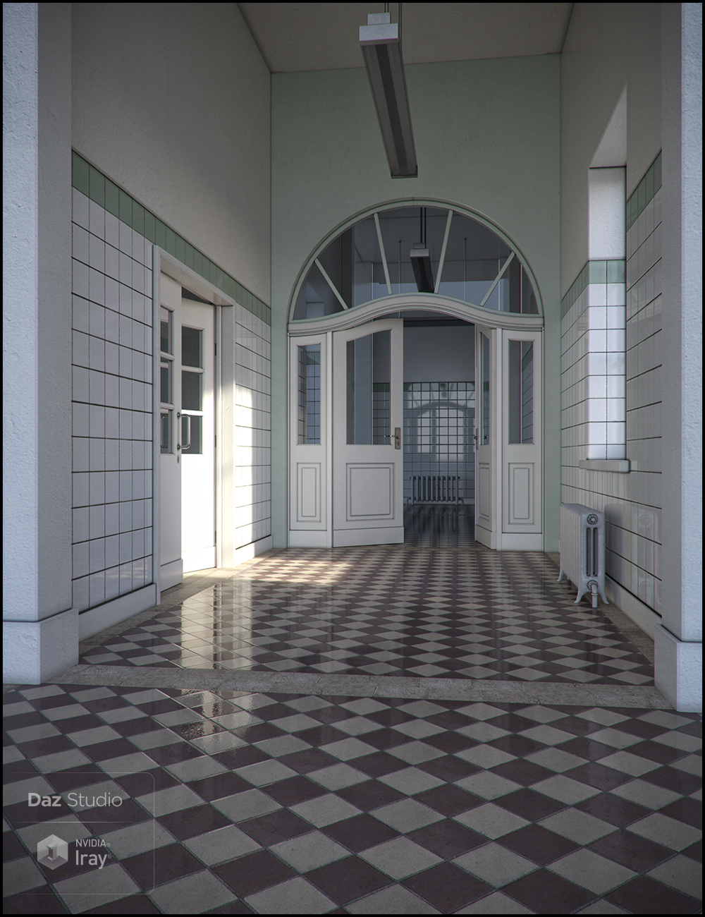 West Park Committed Iray Addon by: Jack Tomalin, 3D Models by Daz 3D