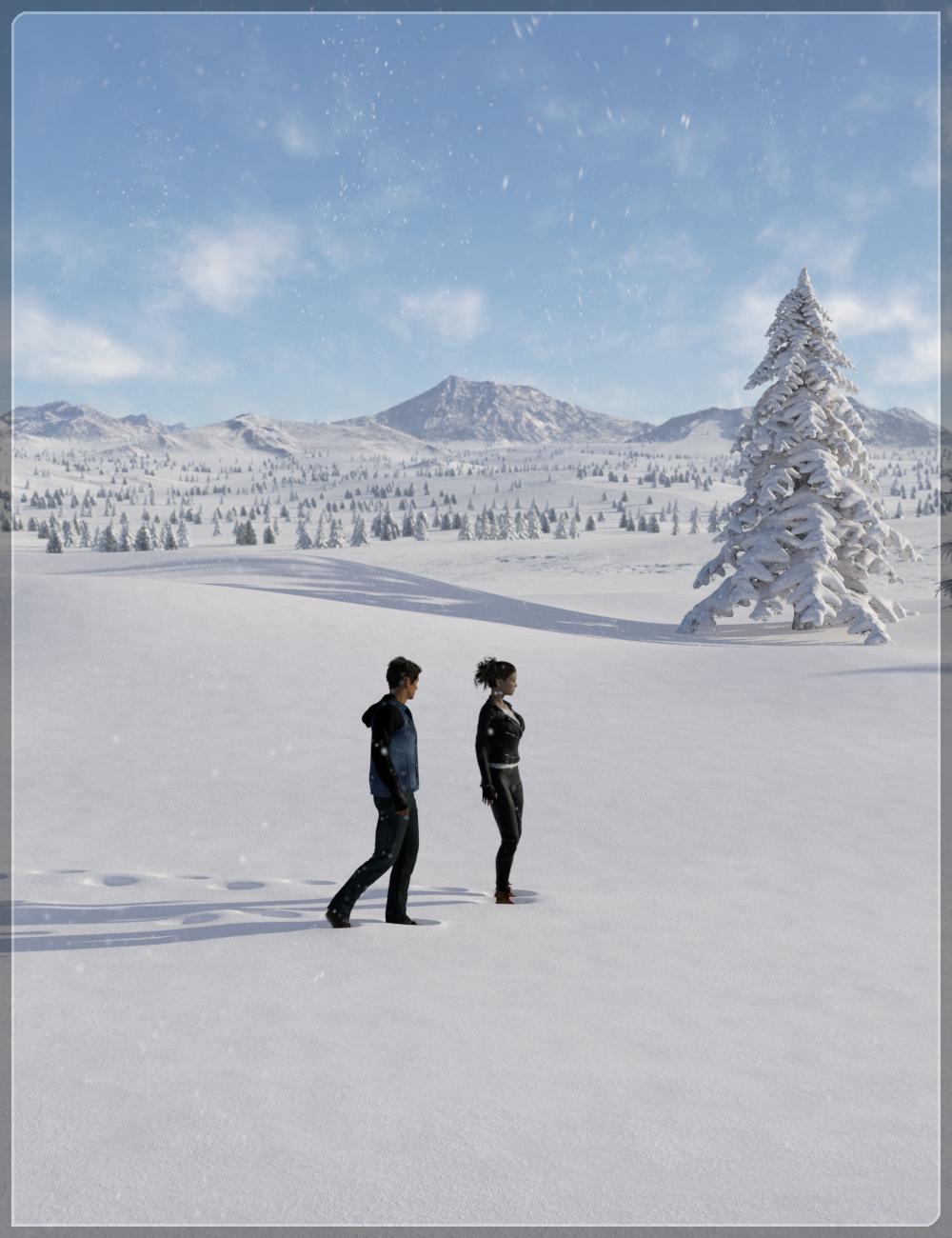 Easy Environments: Winter II by: Flipmode, 3D Models by Daz 3D