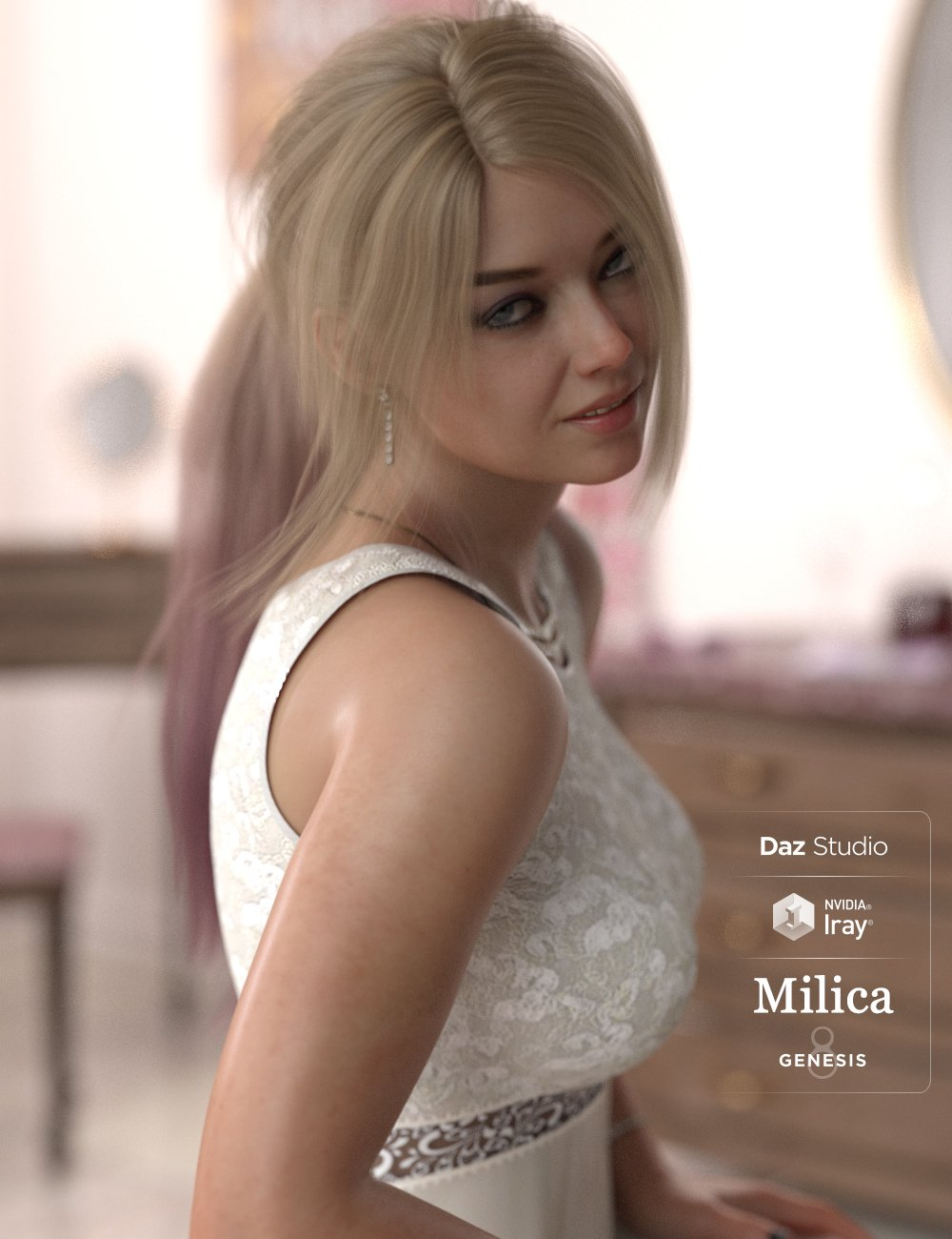Milica HD For Genesis 8 Female by: iSourceTextures, 3D Models by Daz 3D