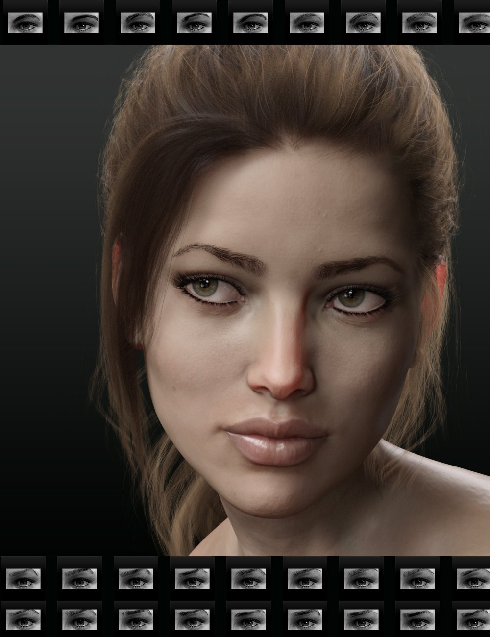 Beautiful Brows for Genesis 8 Female(s) by: chevybabe25, 3D Models by Daz 3D