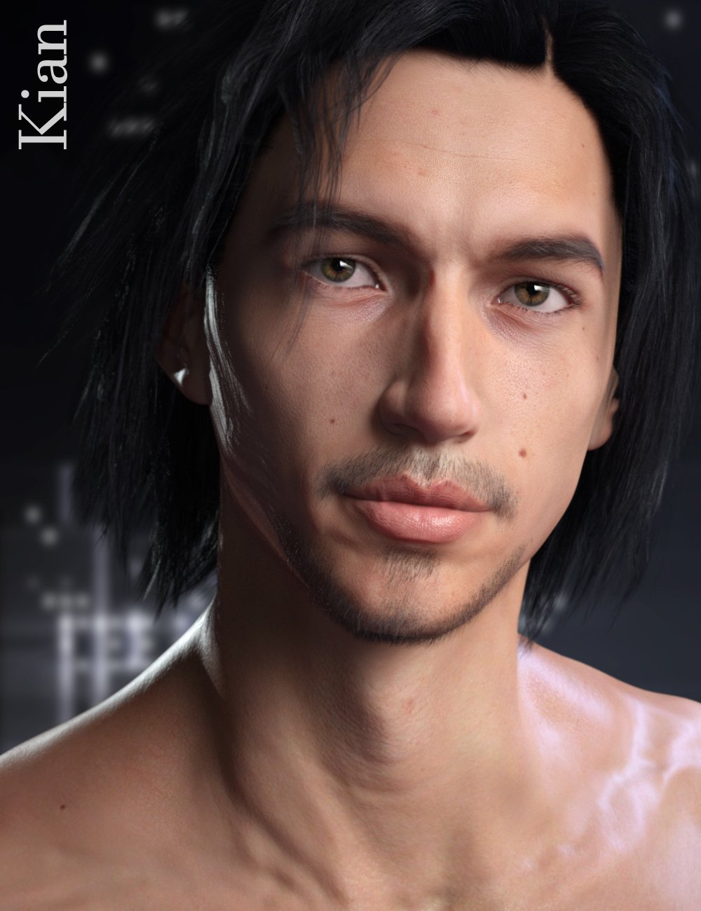 RY Kian for Michael 8 by: Raiyaoutoftouch, 3D Models by Daz 3D