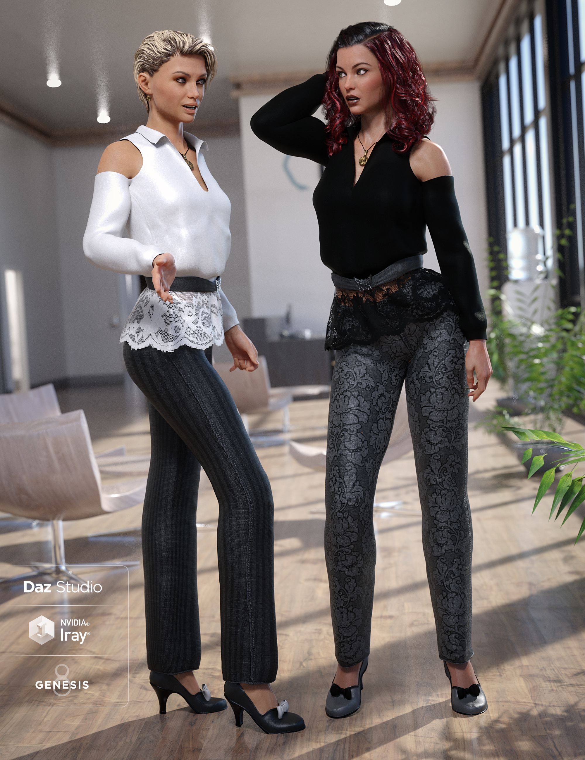 Casual Styles by: Sarsa, 3D Models by Daz 3D