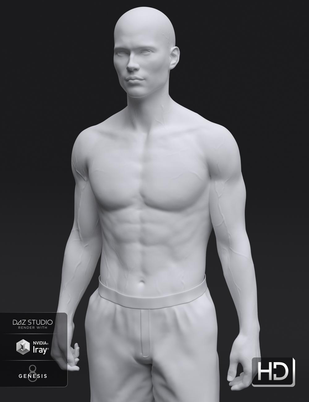 Landon 8 HD Add-On by: , 3D Models by Daz 3D