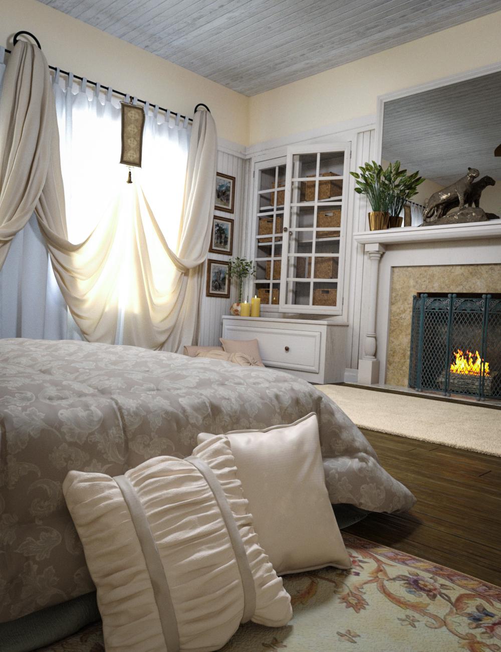 Woodman House: The Bedroom by: SloshWerks, 3D Models by Daz 3D
