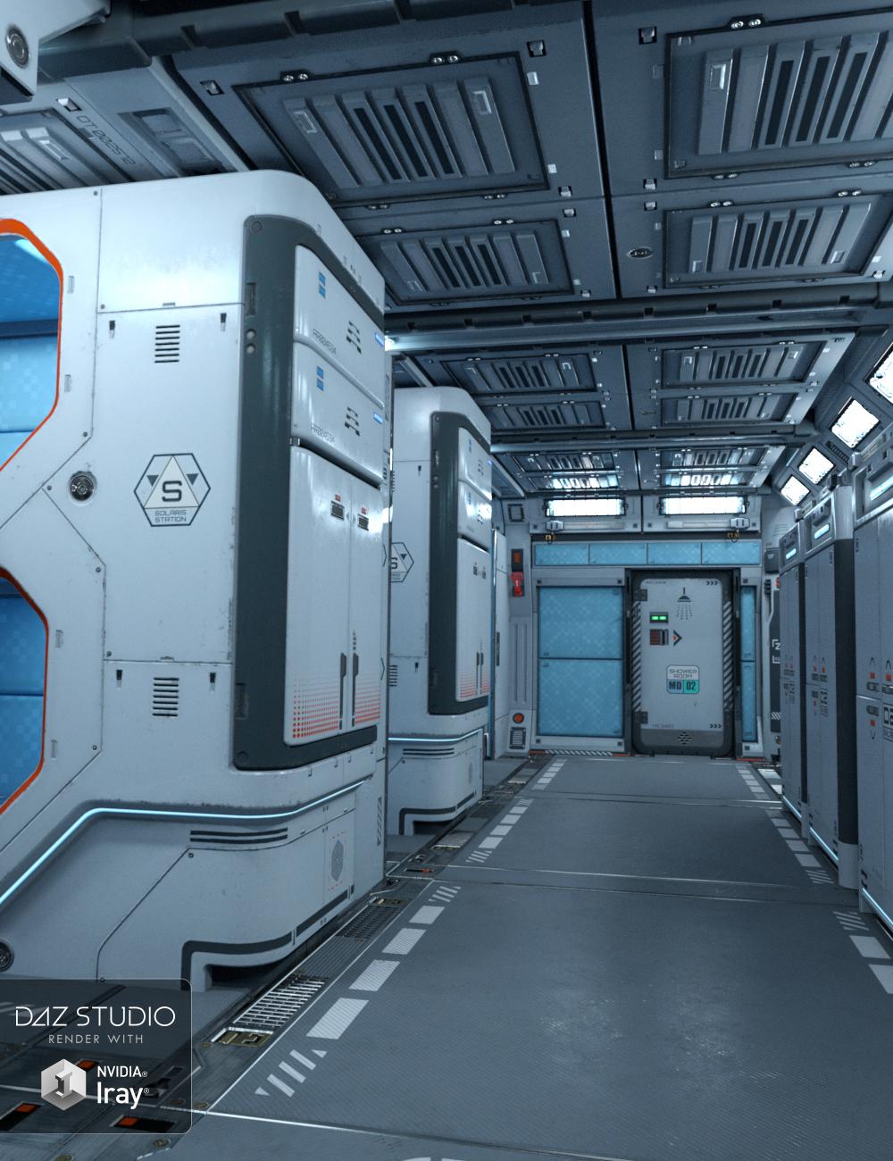 Solaris Cabin by: petipet, 3D Models by Daz 3D