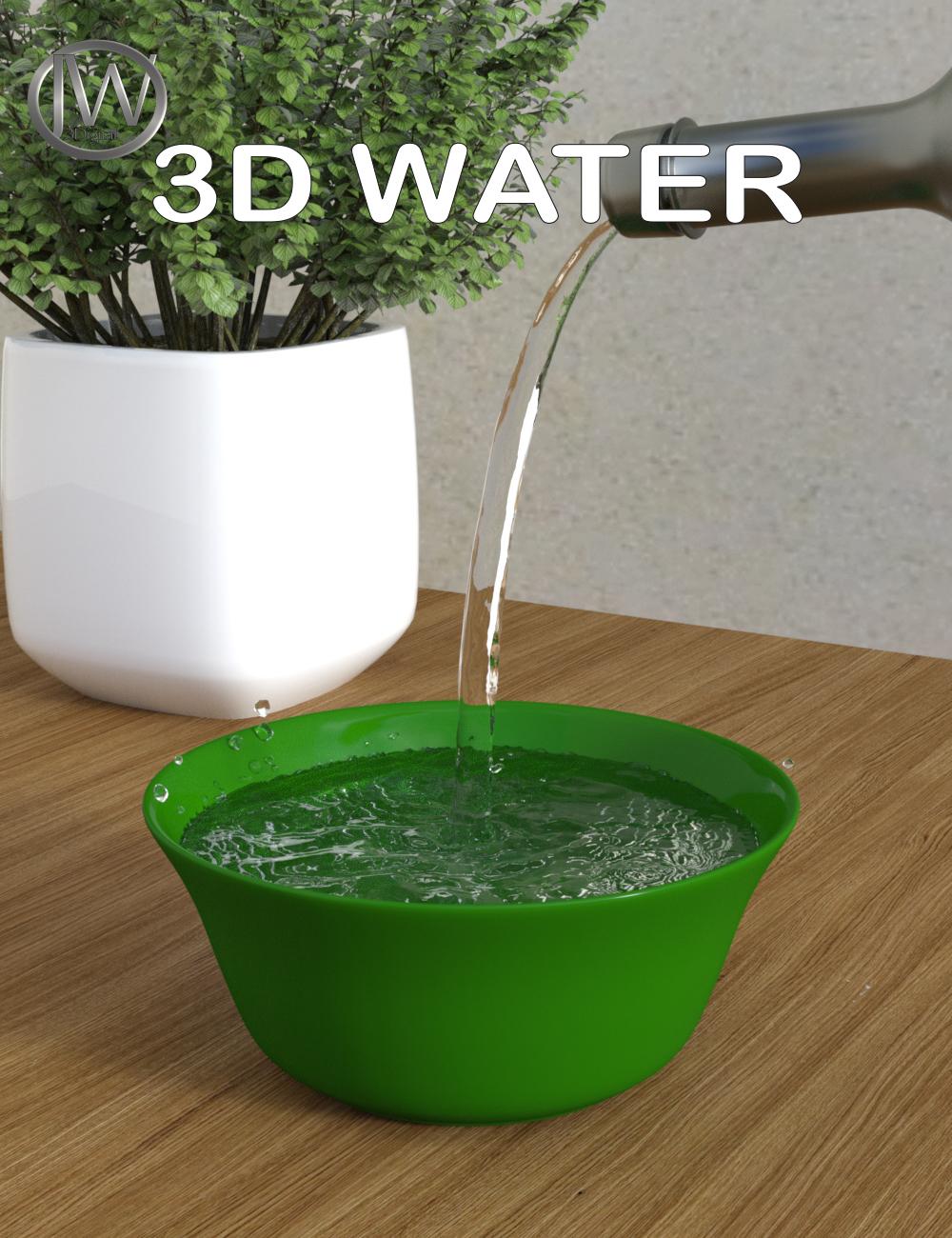 JW 3D Water Props by: JWolf, 3D Models by Daz 3D