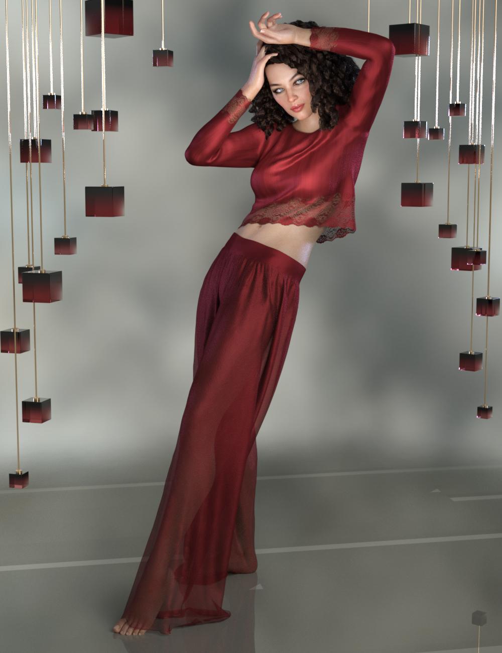 dForce Harper Set for Genesis 8 Female(s) by: PandyGirl, 3D Models by Daz 3D