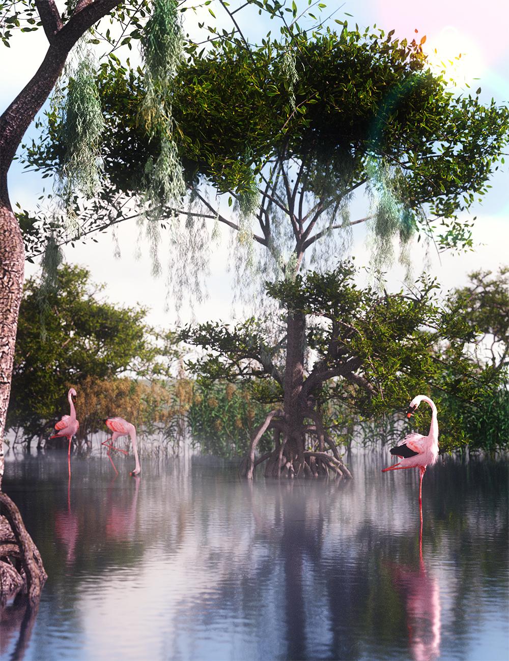 Spanish Moss by: MartinJFrost, 3D Models by Daz 3D