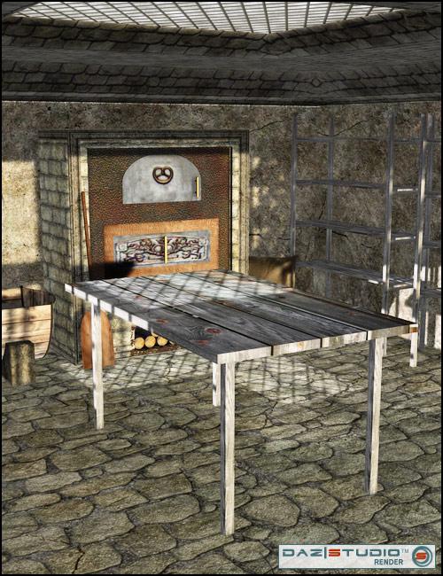 Old Bakery by: Nouschka Design, 3D Models by Daz 3D