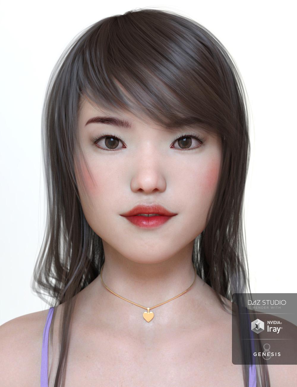 Hikaru & dForce Lingerie for Genesis 8 Female(s) by: Cherubit, 3D Models by Daz 3D