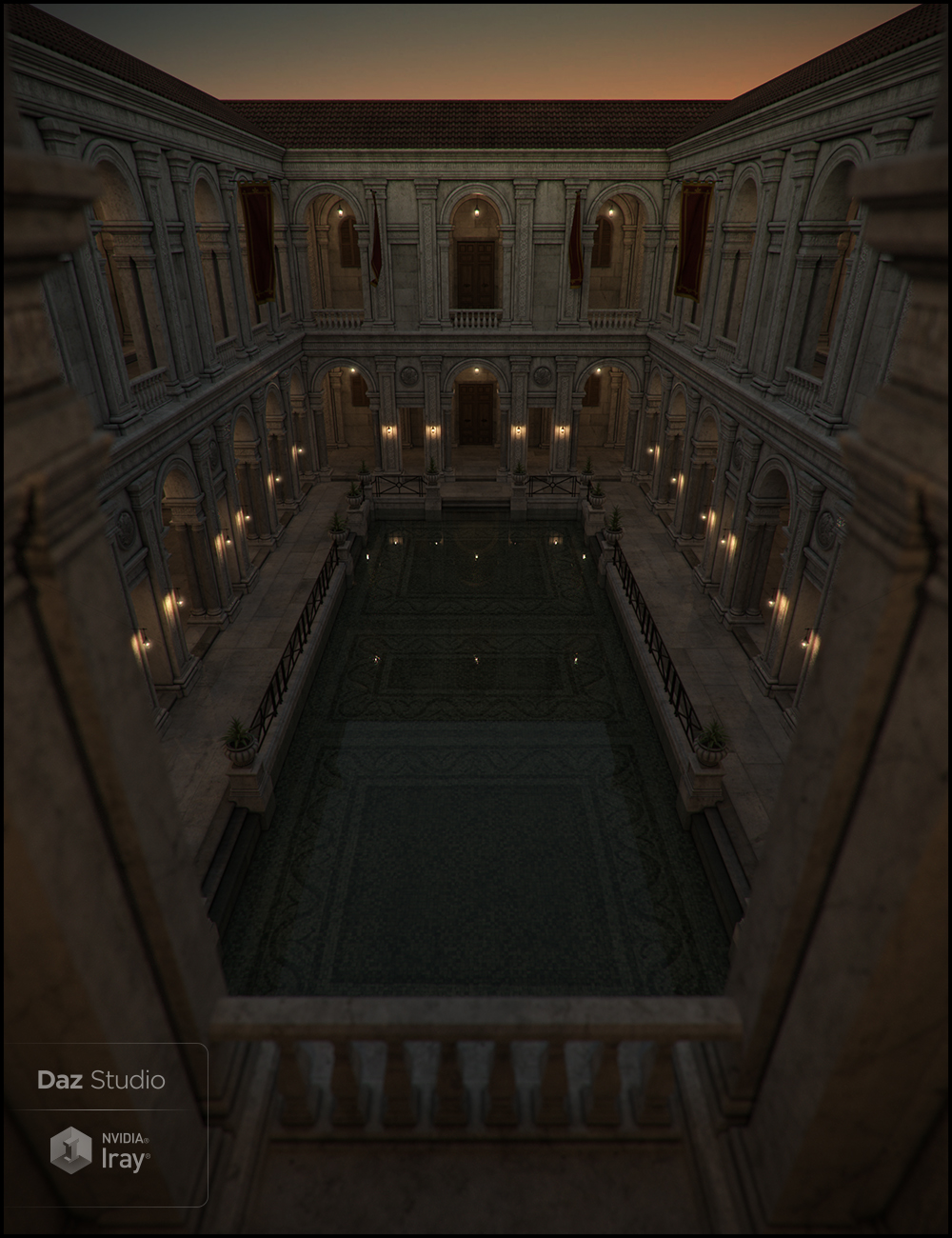 Platea Iray Addon by: Jack Tomalin, 3D Models by Daz 3D