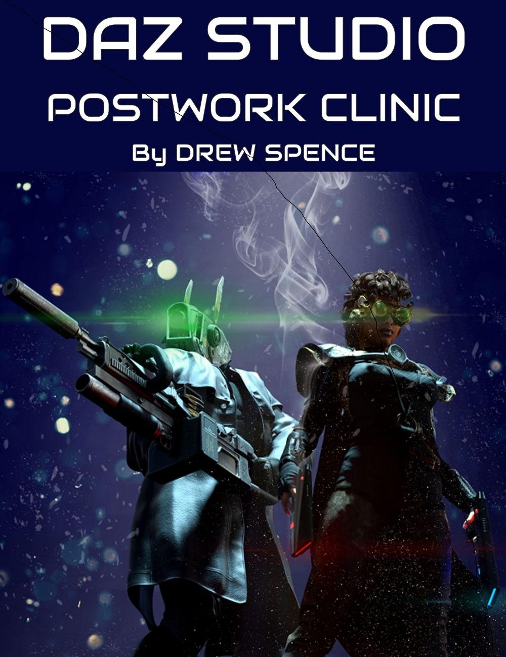 Daz Studio Postwork Clinic by: Digital Art Live, 3D Models by Daz 3D