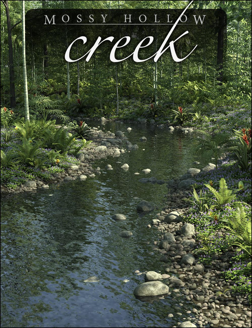 Mossy Hollow Creek by: HowieFarkes, 3D Models by Daz 3D