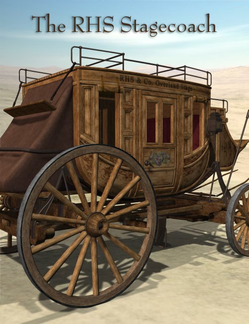 The RHS Stagecoach by: , 3D Models by Daz 3D