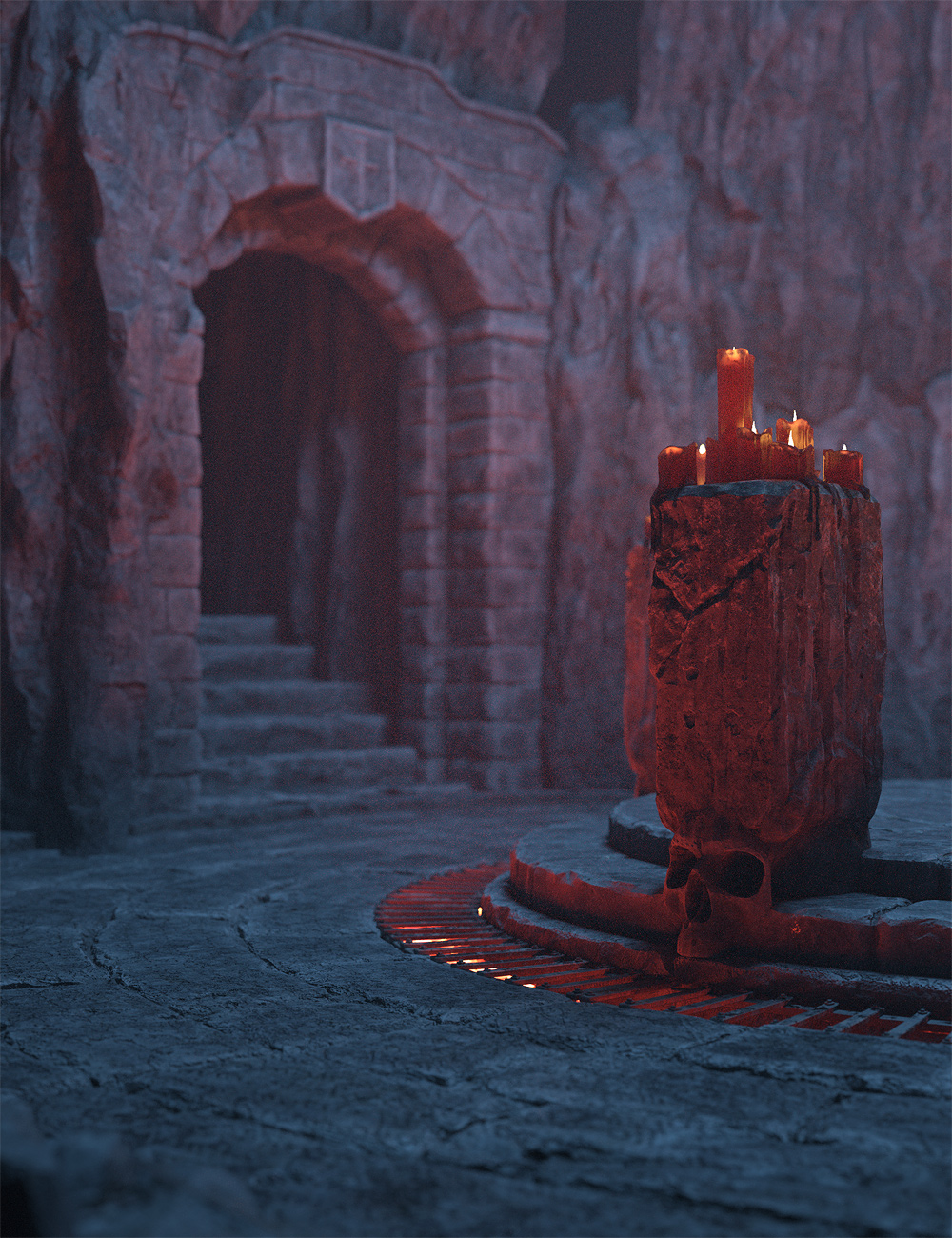 The Heart Of Darkness by: Stonemason, 3D Models by Daz 3D