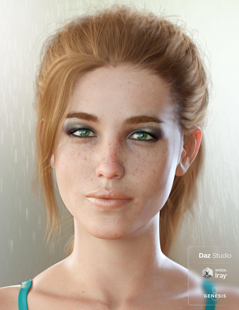 Bridget 8 Pro Bundle by: , 3D Models by Daz 3D