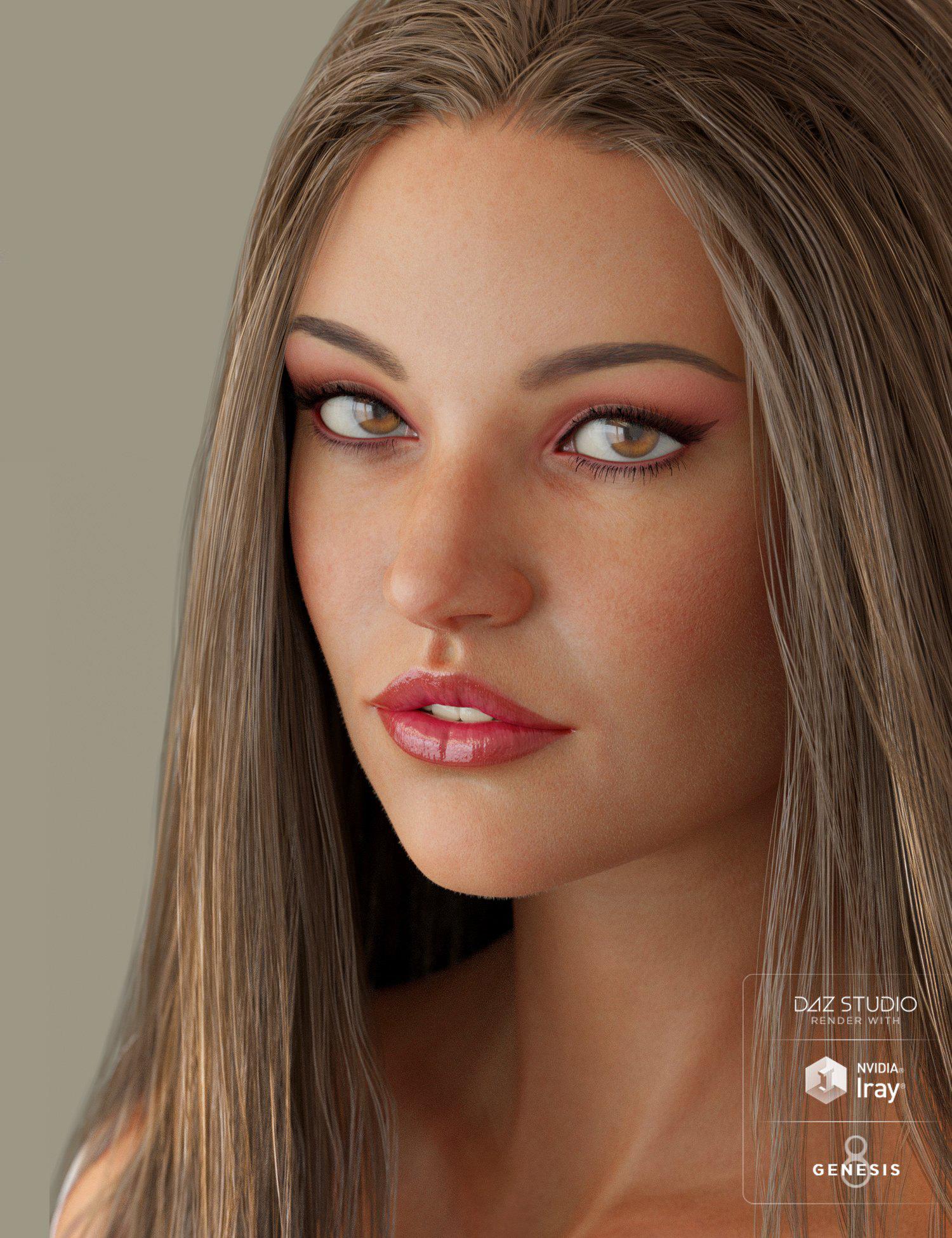 Evelyn & Lynn HD for Genesis 8 Female by: maelwenn, 3D Models by Daz 3D