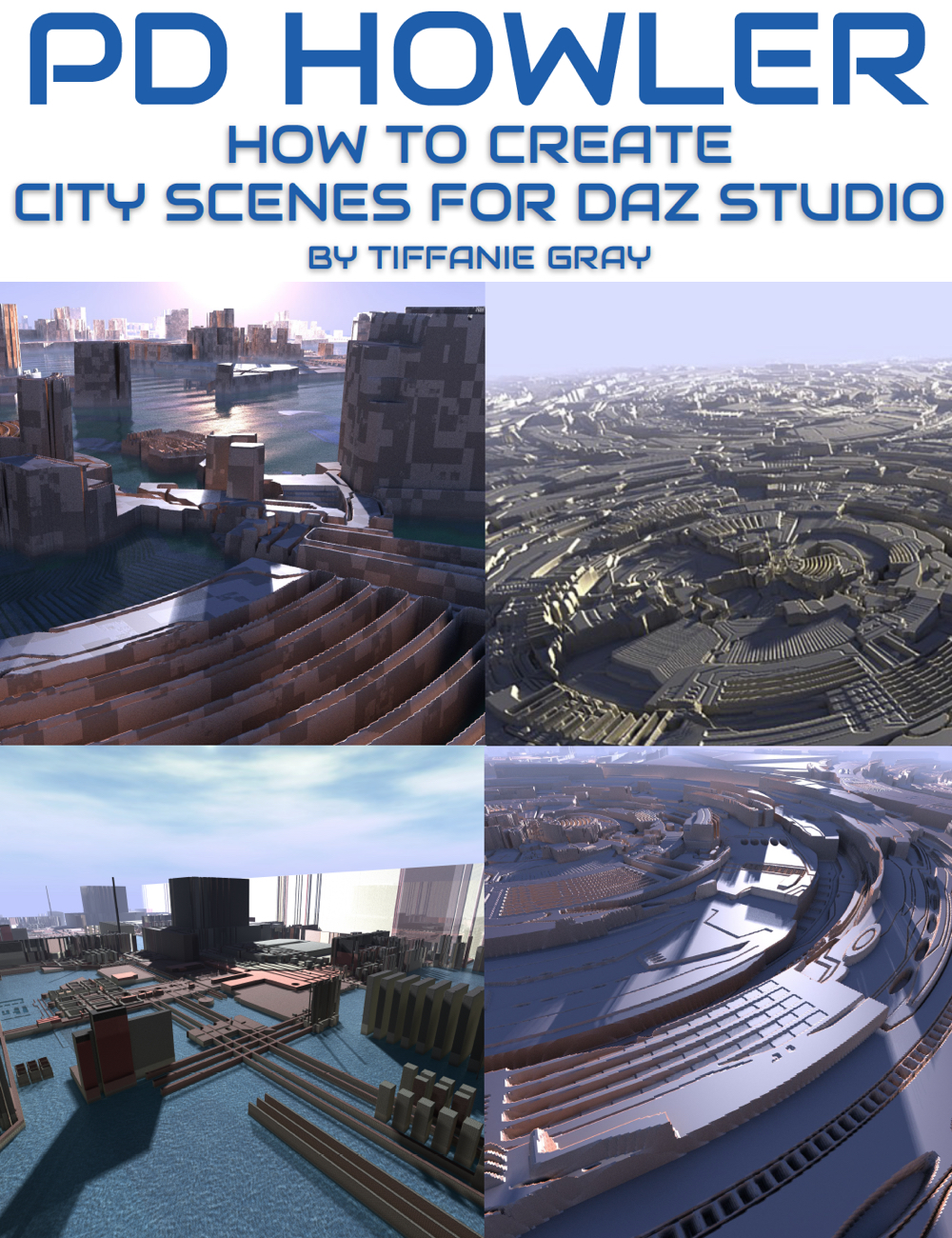 How to Create City Scenes for Daz Studio in PD Howler by: Digital Art Live, 3D Models by Daz 3D
