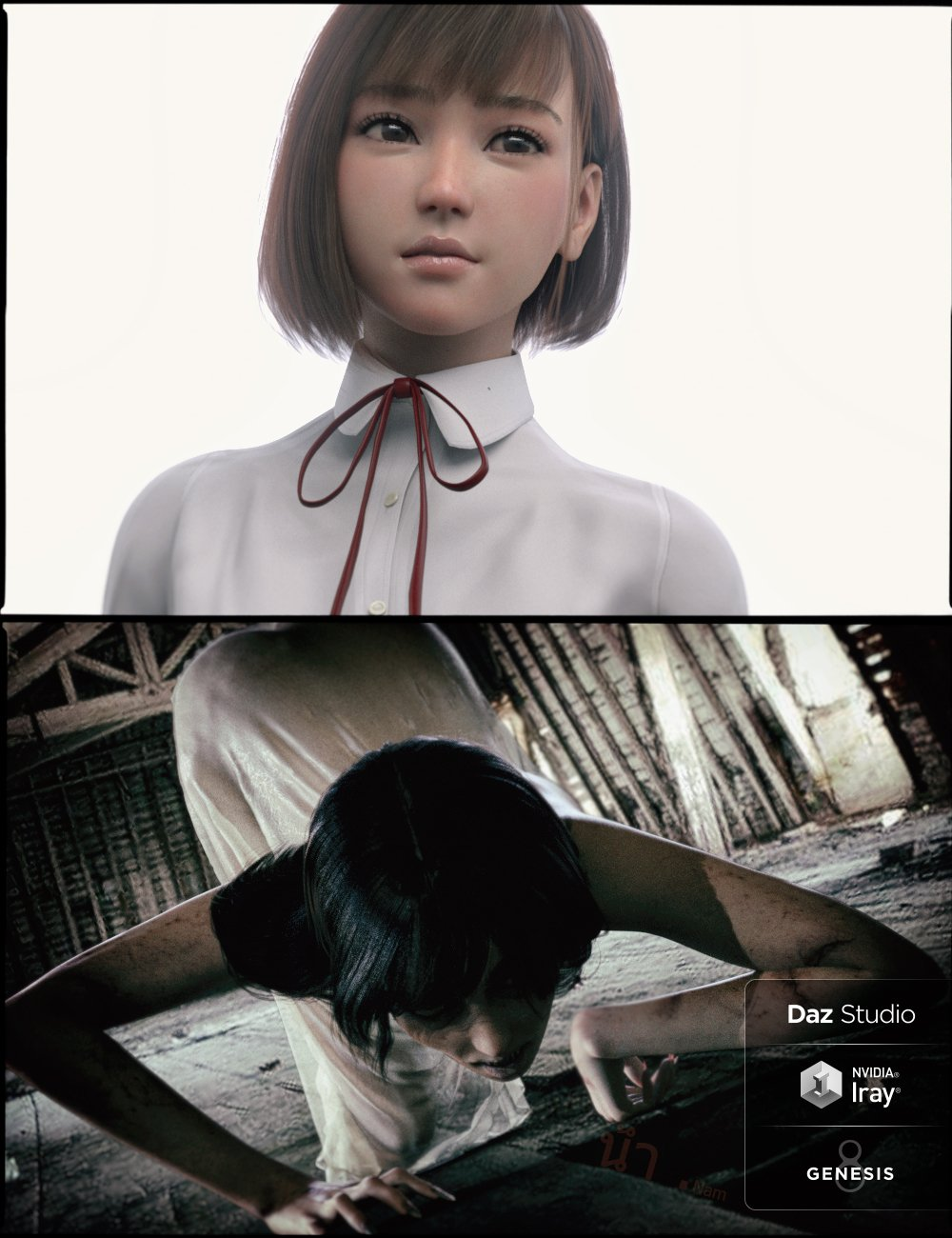 Nam Terror Set for Genesis 8 Female by: RareStone, 3D Models by Daz 3D