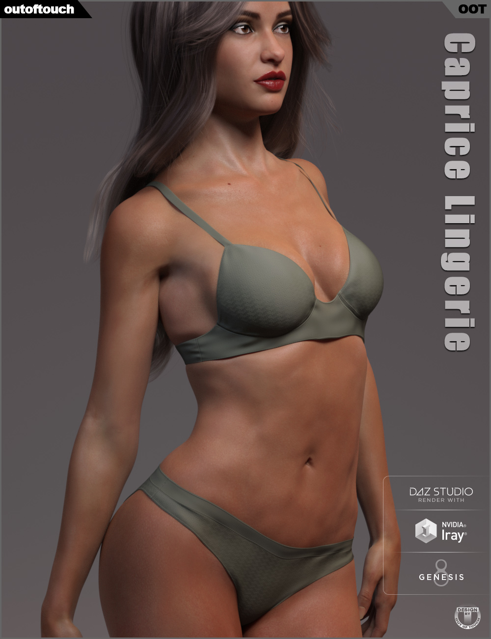 Caprice Lingerie for Genesis 8 Female(s) by: outoftouch, 3D Models by Daz 3D