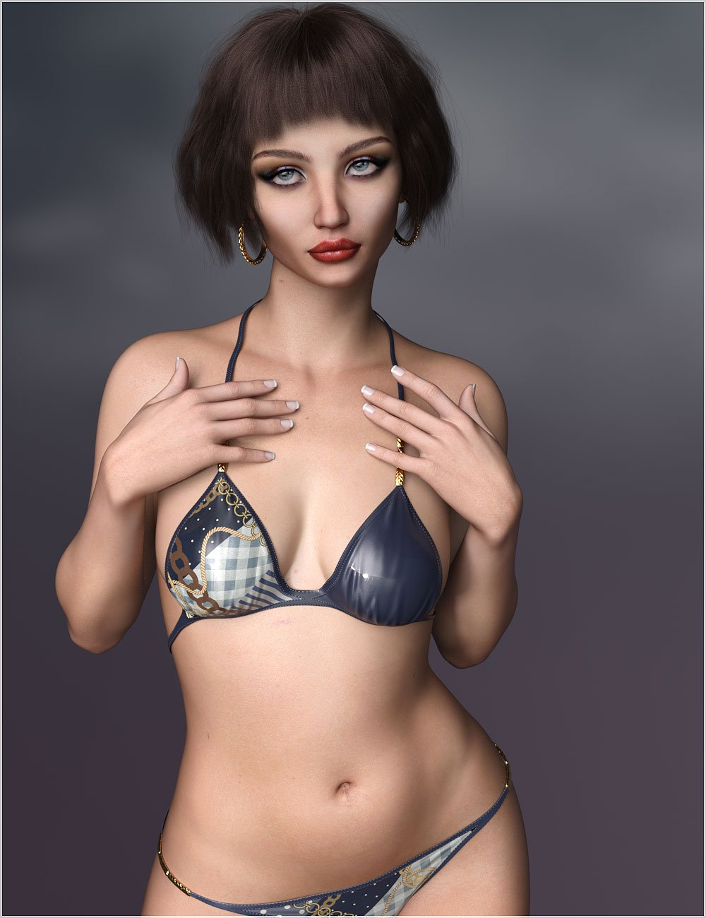 Sorcha for Bridget 8 by: Belladzines, 3D Models by Daz 3D