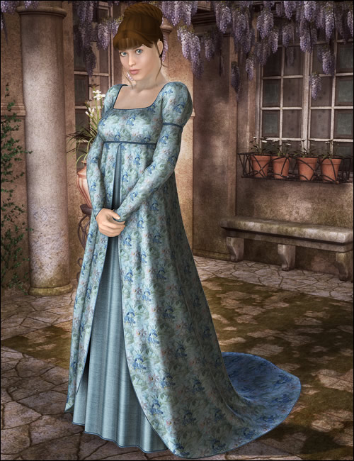 Sensibility for Victoria 4 by: Ravenhair, 3D Models by Daz 3D
