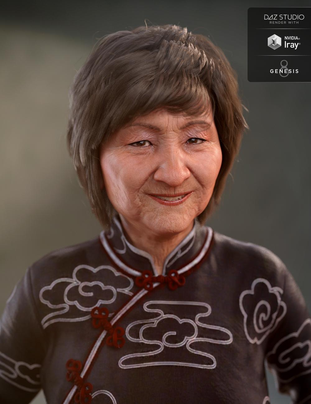 Mrs Chow 8 Starter Bundle by: , 3D Models by Daz 3D