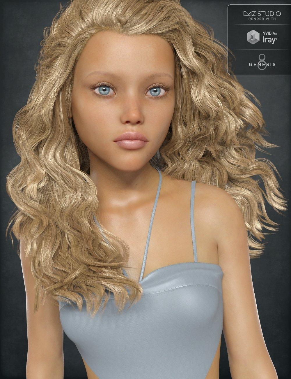 Sandy for Teen Josie 8 by: Handspan Studios, 3D Models by Daz 3D