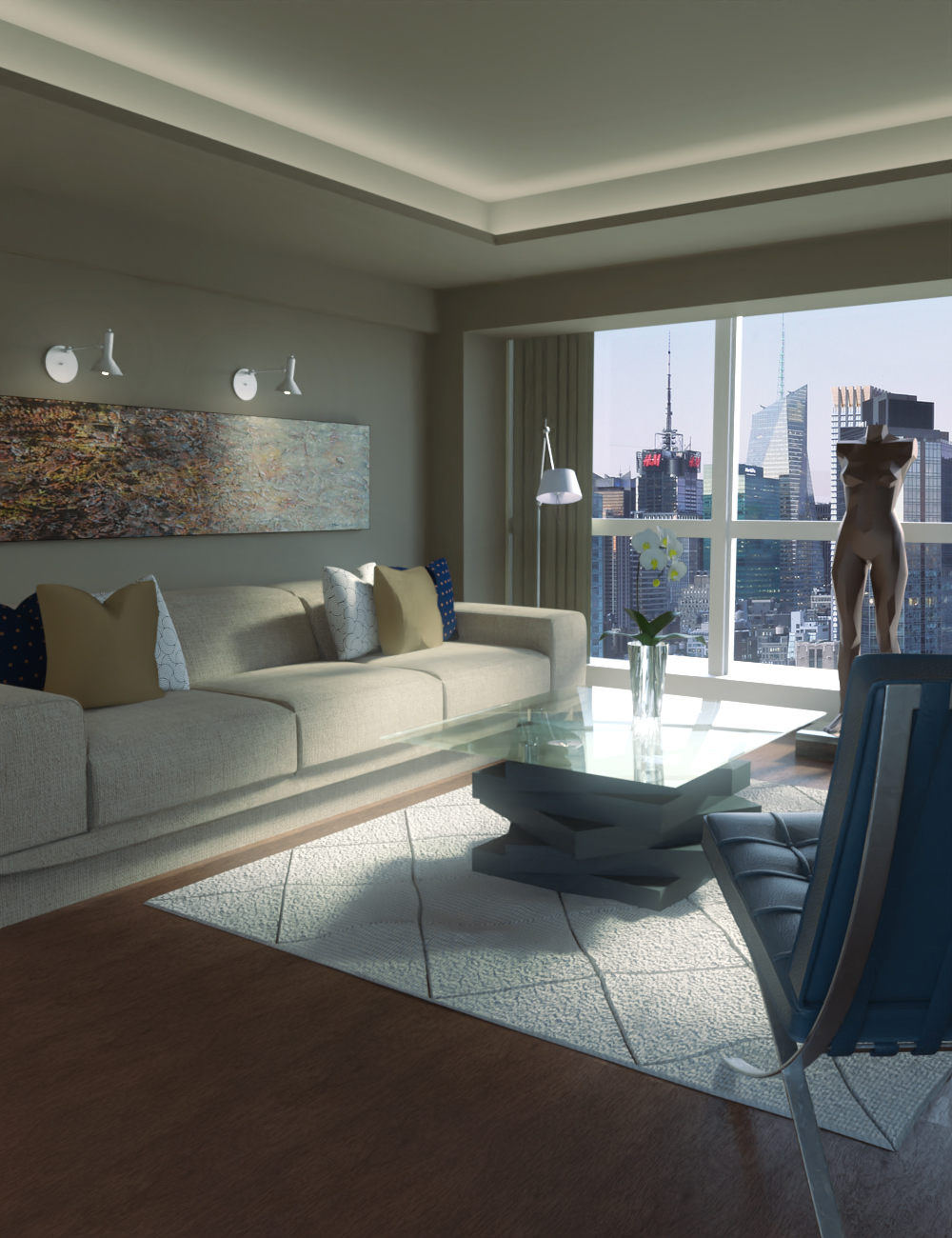 DL Manhattan Loft by: Digitallab3D, 3D Models by Daz 3D