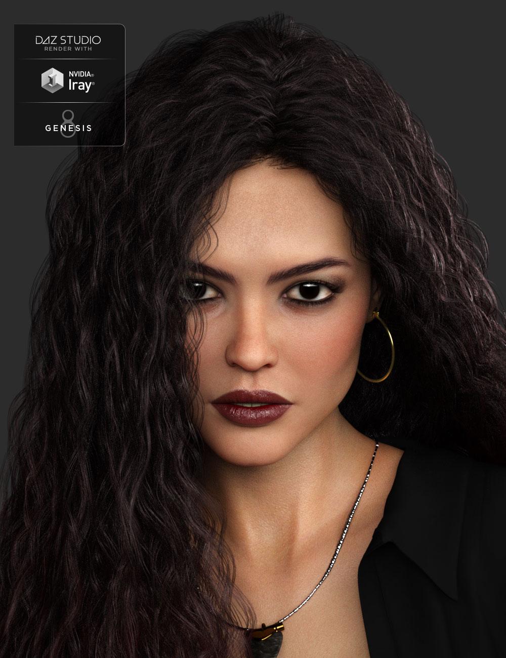 Serayes HD for Genesis 8 Female by: Mousso, 3D Models by Daz 3D