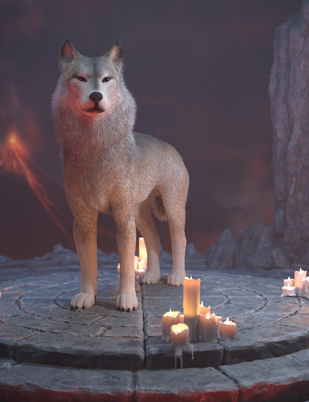Warg HD for Daz Dog 8 by: GhostofMacbeth, 3D Models by Daz 3D