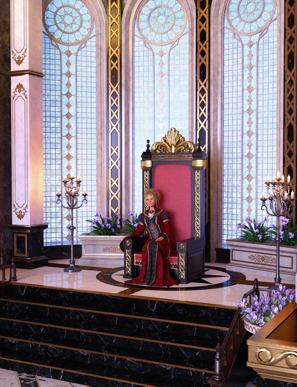 Palace by: Charles, 3D Models by Daz 3D