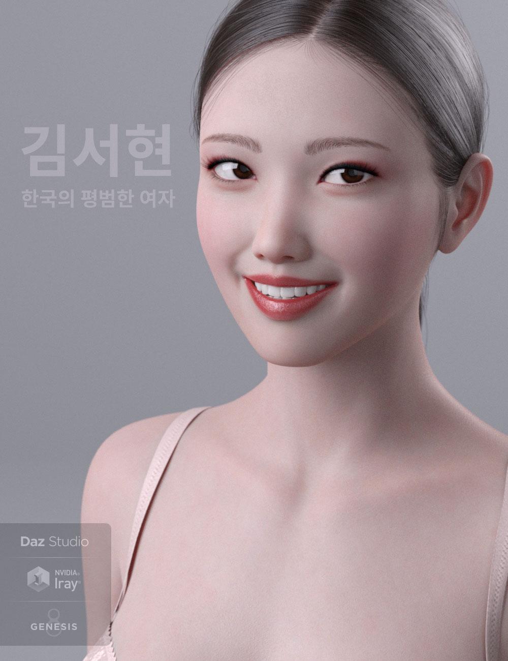 Kim Seohyun for Genesis 8 Female by: HerYun, 3D Models by Daz 3D