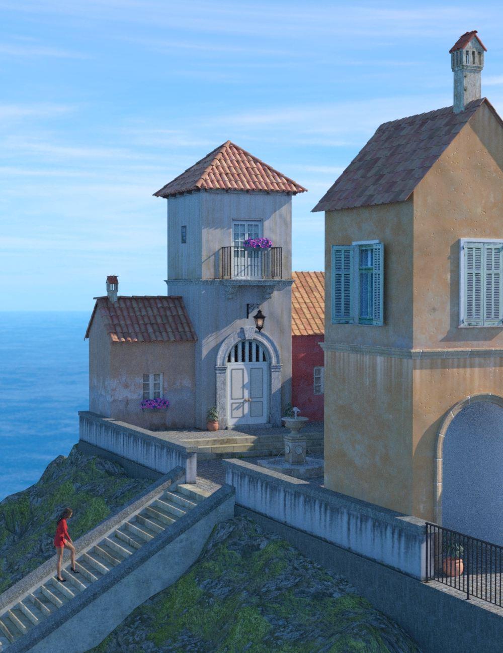 Seaside Village by: bitwelder, 3D Models by Daz 3D