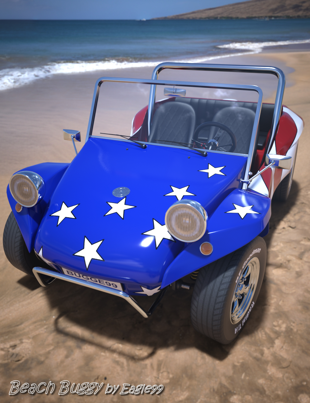 Beach Buggy by: Eagle99, 3D Models by Daz 3D