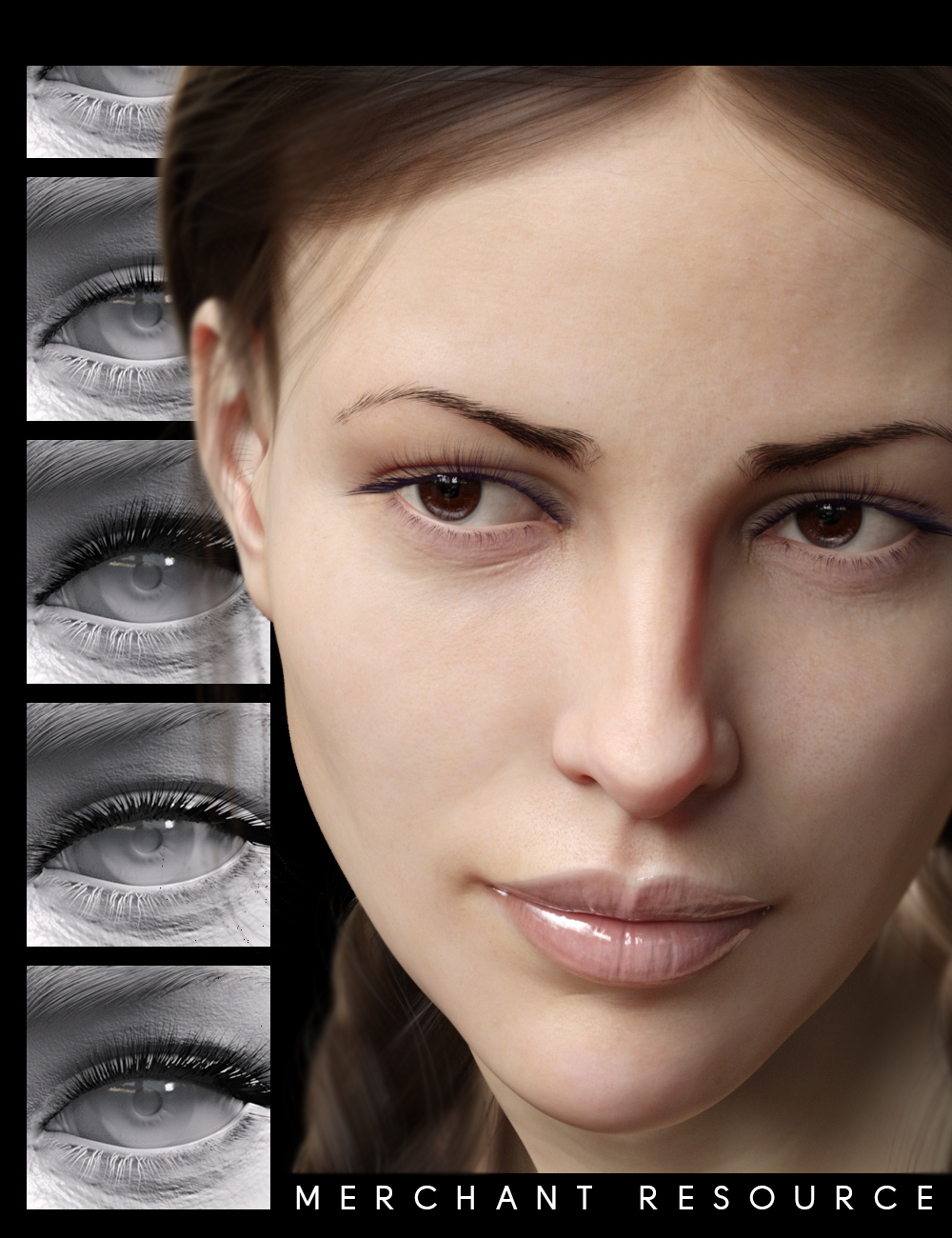 Lash Master For Genesis 8 Females by: chevybabe25, 3D Models by Daz 3D