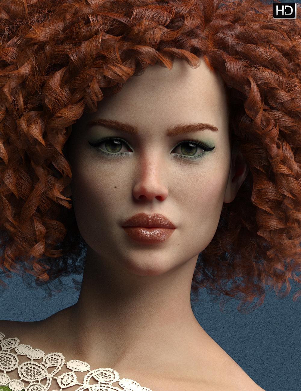 Audrey HD for Bridget 8 by: Emrys, 3D Models by Daz 3D