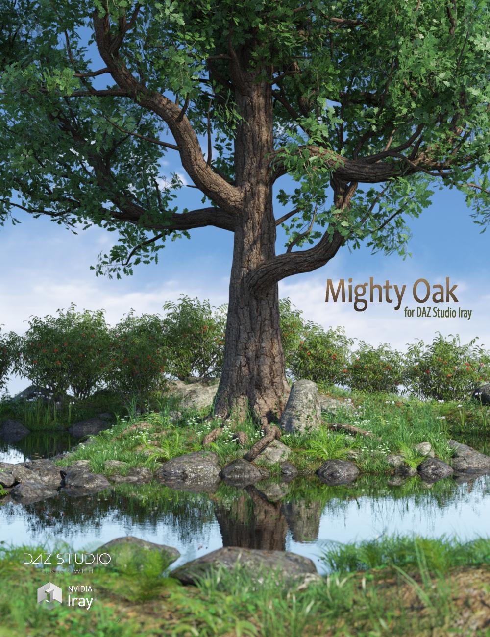 Mighty Oak by: Peanterra, 3D Models by Daz 3D