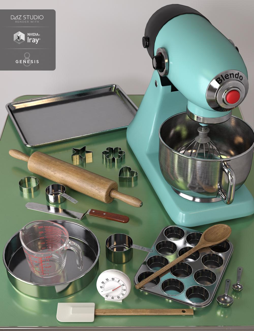 Baking Tools by: Rascal3D, 3D Models by Daz 3D