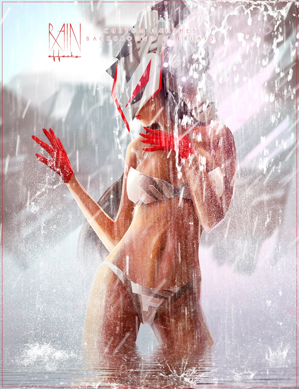 Ron's Rain and Water Effects by: deviney, 3D Models by Daz 3D