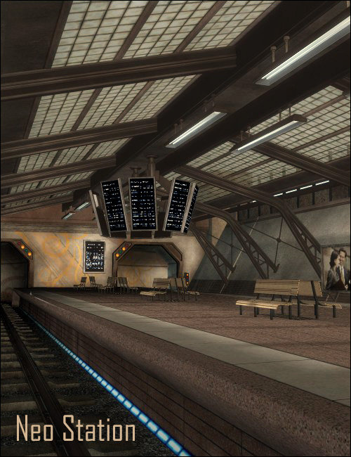Neo Station by: , 3D Models by Daz 3D