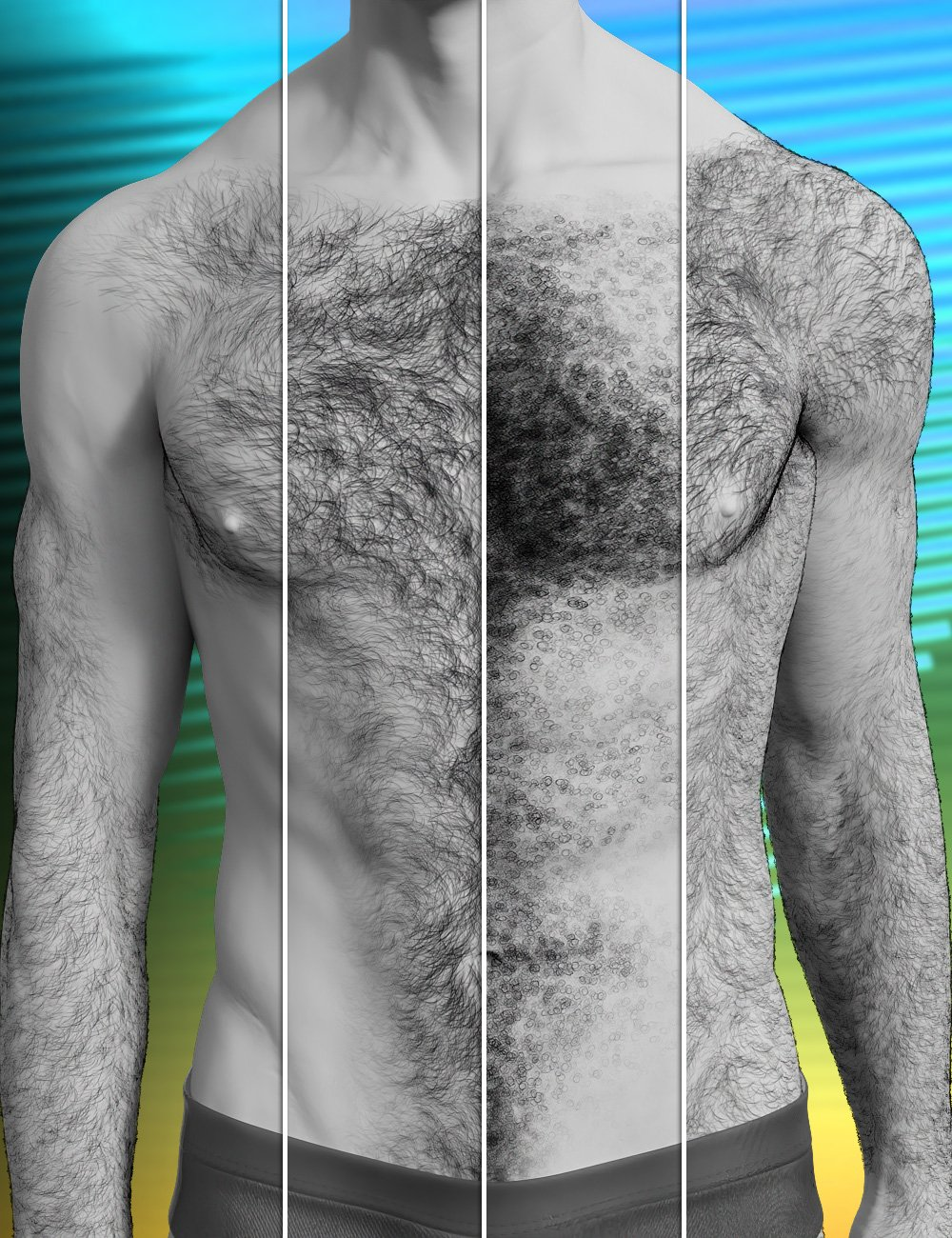 Jepe's Bodyhair Project 78 by: Jepe, 3D Models by Daz 3D