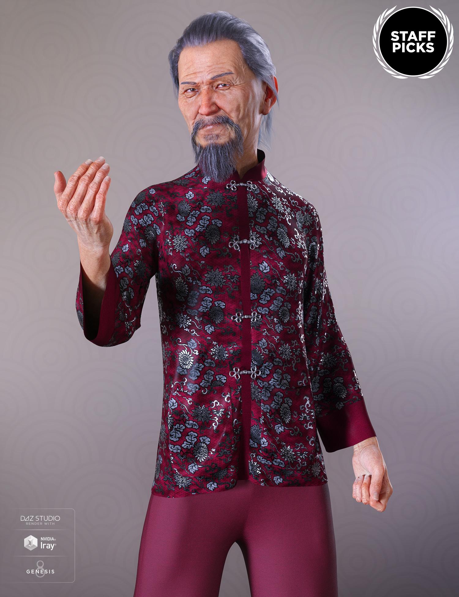 Mr Woo 8 by: , 3D Models by Daz 3D