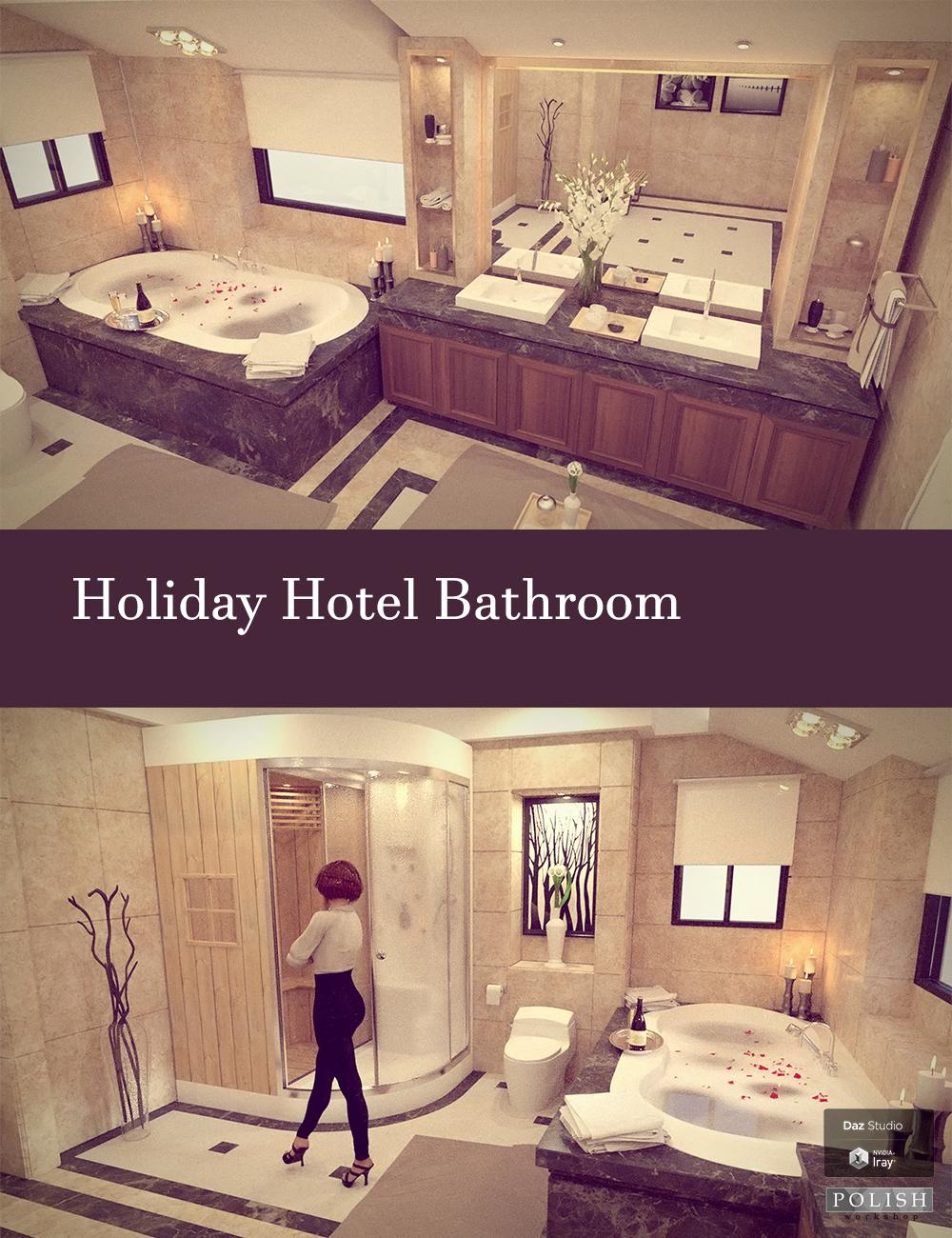 Holiday Hotel Bathroom by: Polish, 3D Models by Daz 3D