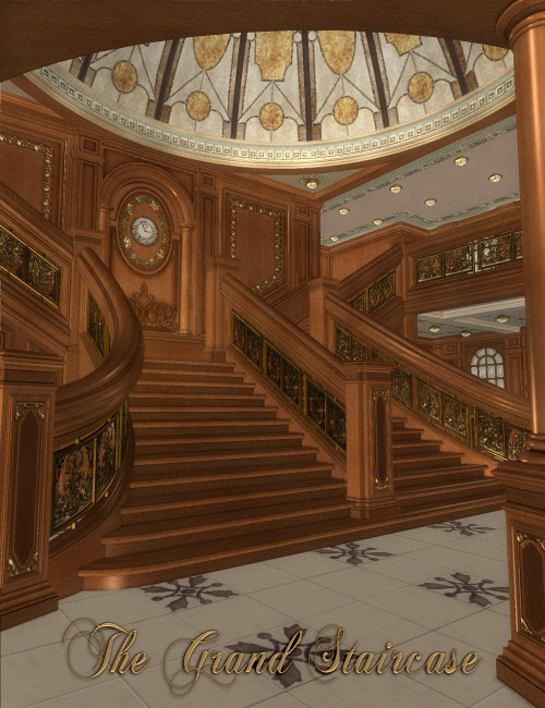 The Grand Staircase by: , 3D Models by Daz 3D