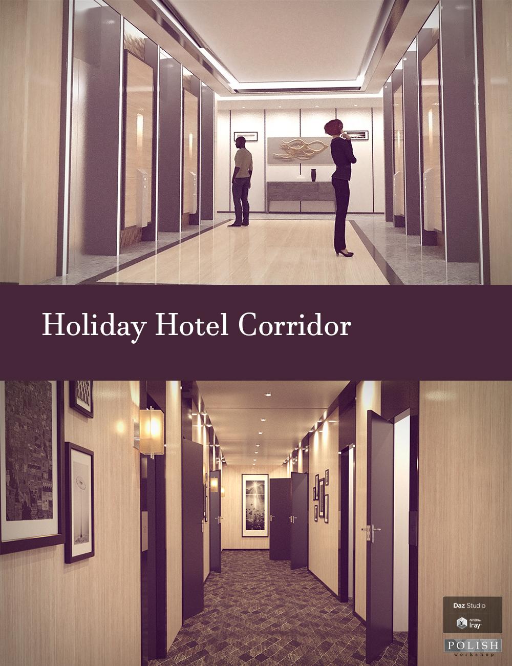 Holiday Hotel Corridor by: Polish, 3D Models by Daz 3D