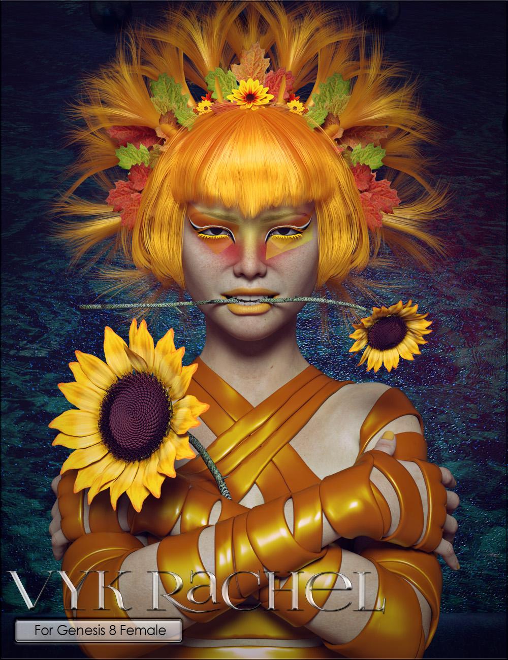 VYK Rachel for Genesis 8 Female by: vyktohria, 3D Models by Daz 3D