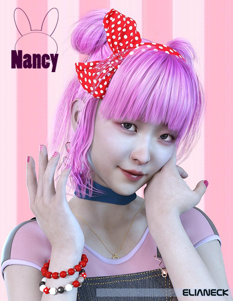 Nancy for Genesis 8 Female by: Elianeck, 3D Models by Daz 3D