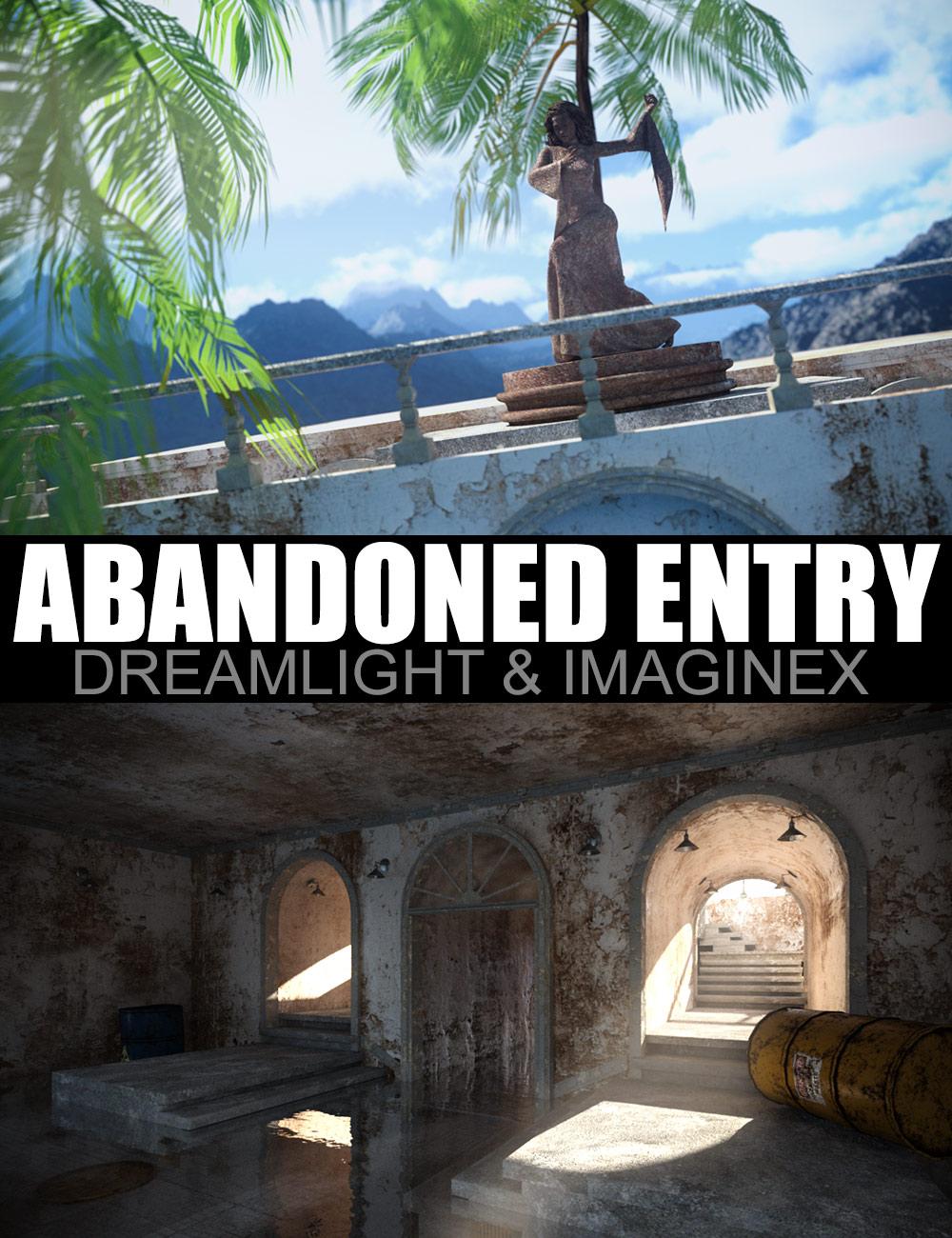 Abandoned Entry by: DreamlightImagineX, 3D Models by Daz 3D