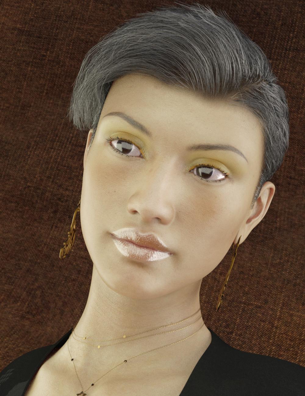 FSL Ultimate Layered Shimmer Makeups by: FuselingSickleyield, 3D Models by Daz 3D